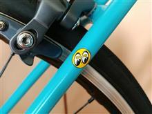 【自転車】アイボールステッカーと来週末