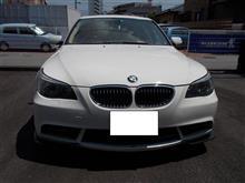 BMW E60 アクティブステア 警告灯 ABA-NE30 530i