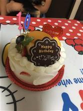 今日は娘の誕生日祝いをしました