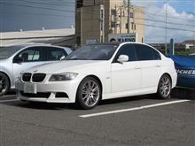 メンテナンスは大事...BMW E90 エンジンオイル交換 FUCHS 5W40