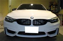 直6に回帰「BMW・M3(F80)」のカーフィルム、ガラスコーティング施工【リボルト茨城】