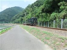 球磨川沿いを散策