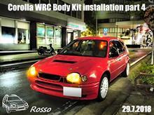Corolla WRC Body Kit installation part 4