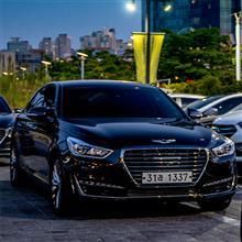 Hyundai GENESIS G80 (DH) と 仁川広域市