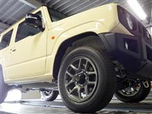 ジムニー 新型JB64W 納車完了!来週より開発開始です!