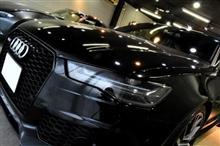 アウディ最強ワゴン!「RS6アバント」のガラスコーティング【リボルト湘南】