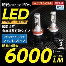 【モニターキャンペーン】HB3/4、H11 6000lm LEDバルブモニターキャンペーンスタート!