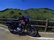 真夏の砥峰高原へ ソロツーリング