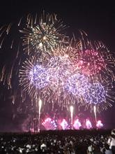 その、印旛沼の花火大会に…