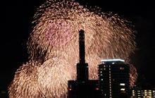 神戸の花火大会へ!