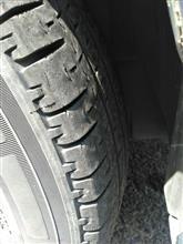 段々タイヤの巻