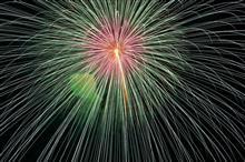 年に1度の花火撮影
