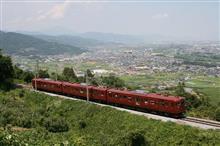 しなの鉄道、観光列車「ろくもん」 追跡(篠ノ井線、姨捨駅付近)