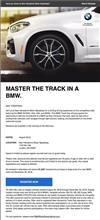 BMW 試乗会のお誘い