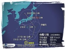 台風回避の東北遠征②