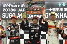全日本ジムカーナRd7準優勝ご報告