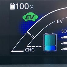 EV走行に使える電池容量