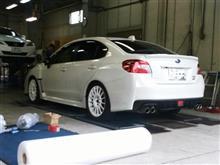 KTS平和島にて車高調装着とアライメント調整