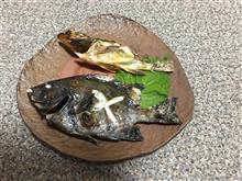釣りの後の料理