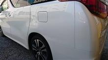 『トヨタ アルファード 板金・塗装・修理』 東京都昭島市よりご来店のお客様です。