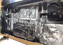 ネットショッピングで購入した防音断熱シート
