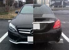 [Mercedes] W205 C200 4matic一年点検