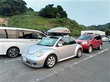 夏キャンプ2018 栄松ビーチ with ニュービートル