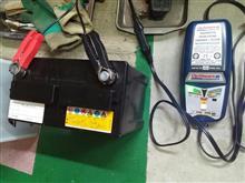 NB8CロードスターRSのバッテリー上がり対処と復活作業②