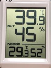 現在気温と湿度