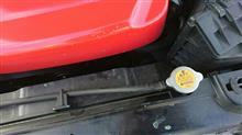 ラジエーター破裂からの修理