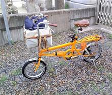 自転車で買い出し