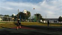 バスケ自主練