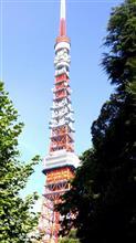 お盆、今朝の東京タワー