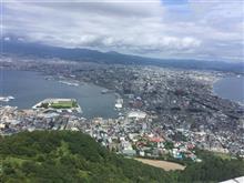 函館山に登頂してきました