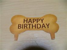 ダイスケ君 1才の誕生日