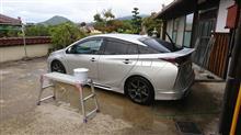 プリウス フル洗車