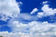 夏の雲を見てたら