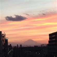 今日の富士山。18,8,18