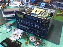 CX-DS0550C/CQ-LS6350A。トヨタ純正、CD/カセット。