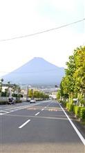 バイクの日の富士山
