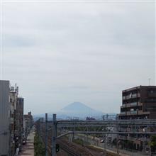 今日の富士山。18,8,19
