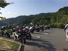 みはらしの丘鷹の羽公園パーキングinバイクの日