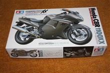 CBR1100XXのプラモデル2018-8-21