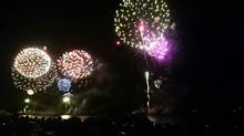 今年も熊野大花火大会に行く