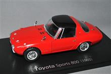 1/24スケール、トヨタ・スポーツ 800  1965年型