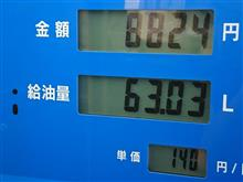 ガソリン高騰中