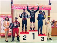 全日本ジムカーナRd8イオックス準優勝