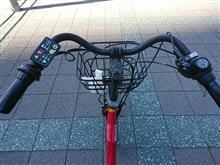 モーニングと埠頭サイクリング