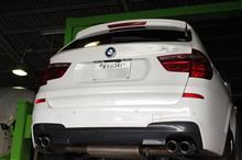 BMW X3 ATF交換&エンジンオイル交換