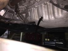 エアコン修理とオイル交換。